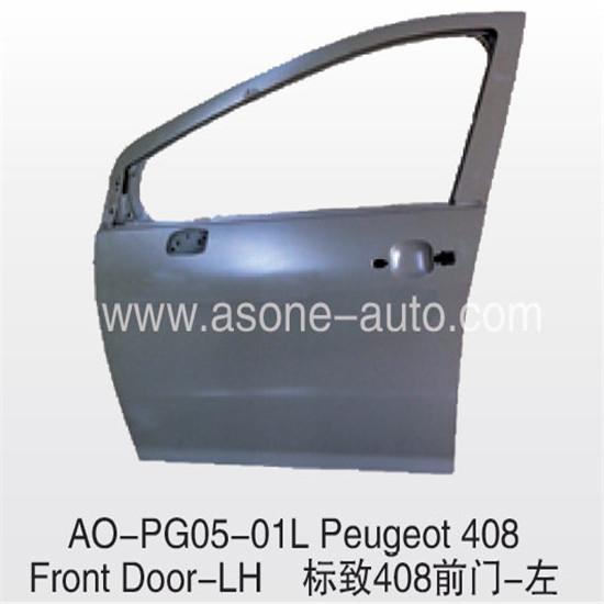 Front Door For Peugeot 408 Auto Body Parts Oem 9002ct