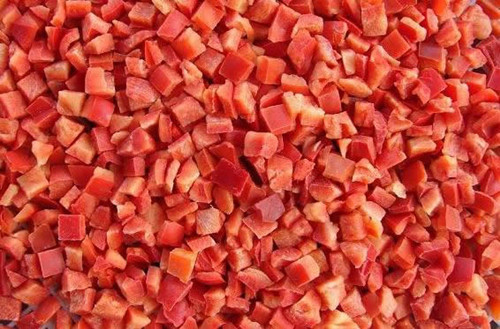 Frozen Red Pepper Diced