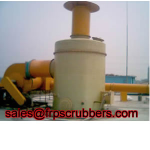 Frp Bubbling Filler Air Scrubber
