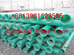 Frp Conduit Pipe Hot Sale Dn200 For Cable Production