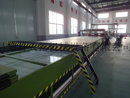 Frp Gel Coat Flat Sheet Production Line