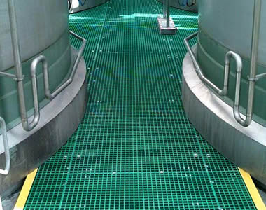 Frp Grating Ground And Walkway
