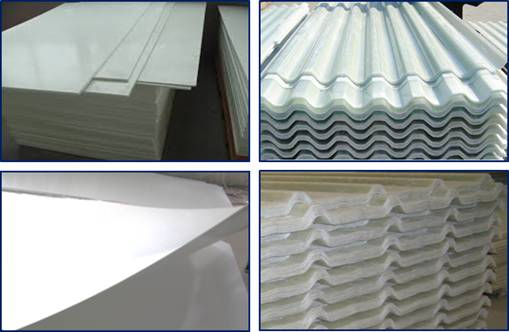 Frp Panel Tile Roofing