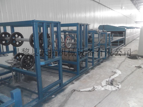 Frp Special Shaped Sheet Production Line
