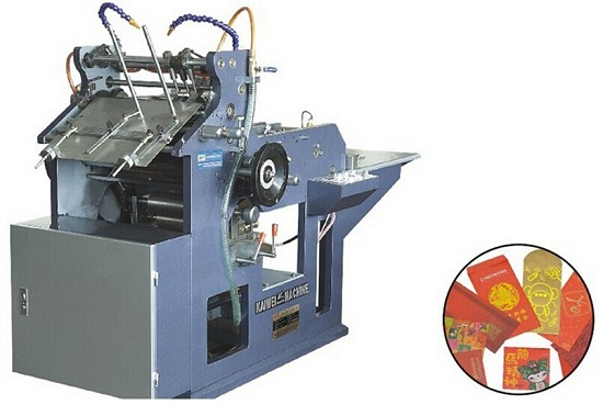 Full Automatic Envelope Red Packet Forming Machine