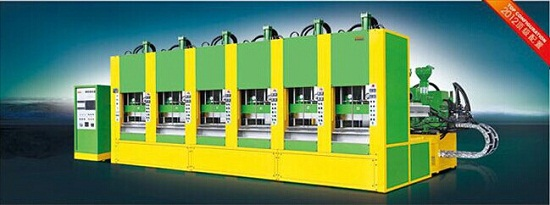 Full Automatic Foam Eva Molding Machine