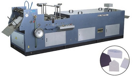 Full Automatic Multi Functional Envelope Flap Tape Gumming Forming Machine