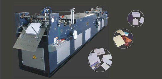 Full Automatic Multi Functional Envelope Gluing Forming Machine