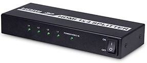 Full Hdmi 1 4 1x4 Splitter With Hdcp 8kv Esd Protection Hollyland