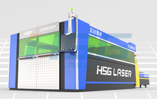 Full Protection And High Speed Fiber Laser Cutting Machine Hs G3015a