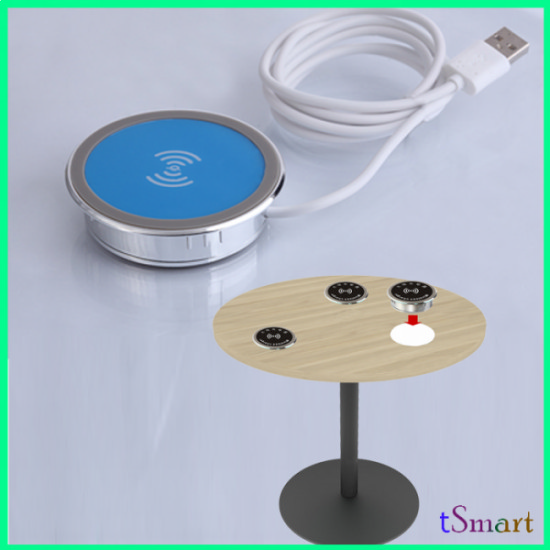 Funiture Wireless Surface Charger