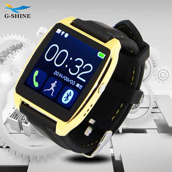 G Shine Watch Phone New Bluetooth Wristwatch Sports Smartwatch D6