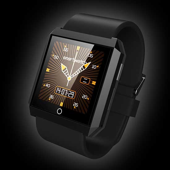 G Shine Wristwatch Water Resistant Bluetooth Mp3 Mp4 Smart Watch Phone G06
