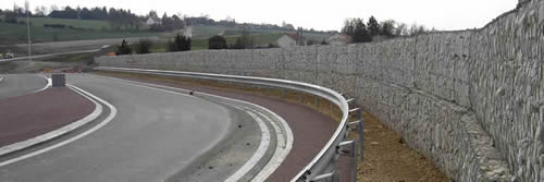 Gabion Sound Barrier A Cheap Solution To Noise Problems