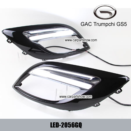 Gac Trumpchi Gs5 Drl Led Daytime Running Lights Car Headlight Parts Fog Lamp Cover 2056gq