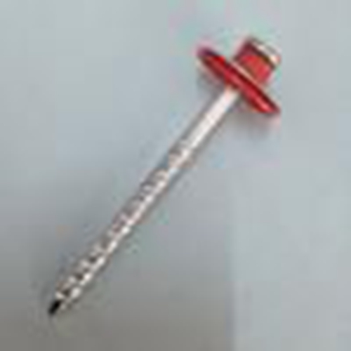Galvanized Assembled Roofing Nails With Colorful Washer