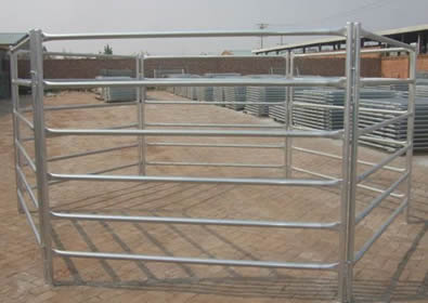 Galvanized Horse Fence Efficiently Protect