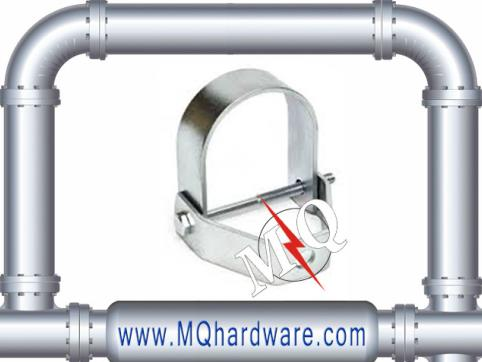 Galvanized Steel Clevis Hanger U Shaped Clip Pipe