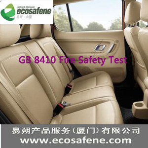 Gb 8410 Chinese Standard Flammability Test To Motor Vehicle