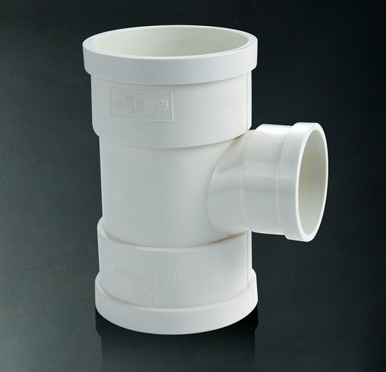 Gb Standard Best Quality Pvc Fiting Reducing Tee For Hdpe Pipe