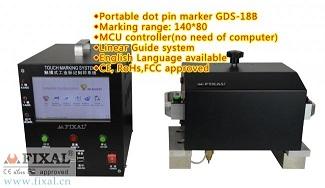 Gds 18b Portable Dot Pin Marker Peen