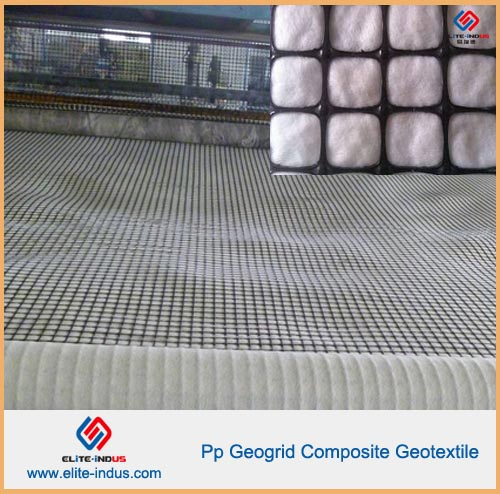 Geocomposite Pp Biaxial Geogrid Composite Geotextile