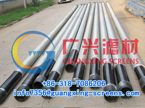 Geothermal Well Drilling Filter Screen Tube Blind Pipe And