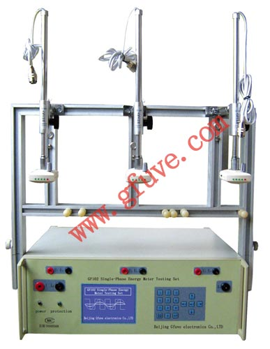Gf102 Portable Single Phase Energy Meter Testing Set