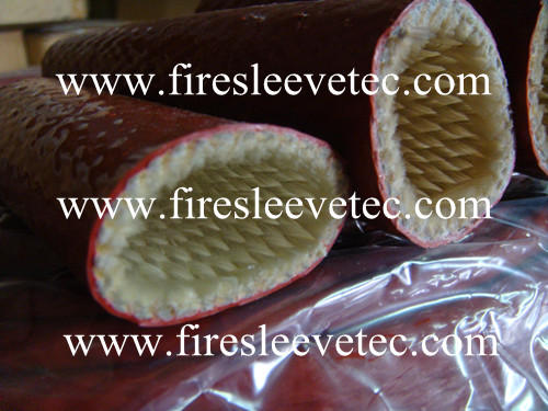 Glass Fiber Coated Silicone Rubber Heat Resistant Sleeving