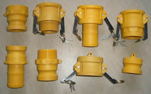 Glass Fiber Reinforced Nylon Camlock Couplings Wide Applications