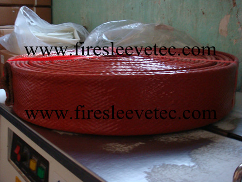 Glass Fibre Silicone Coated Heat Resistant Sleeve