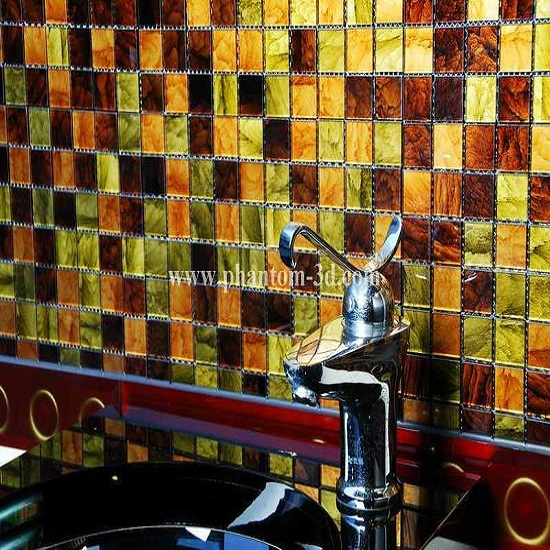 Glass Mosaic Tile For Swimming Pool Bathroom Moasice