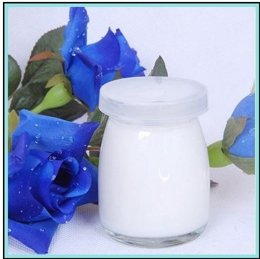 Glass Pudding Bottle 100ml Milk