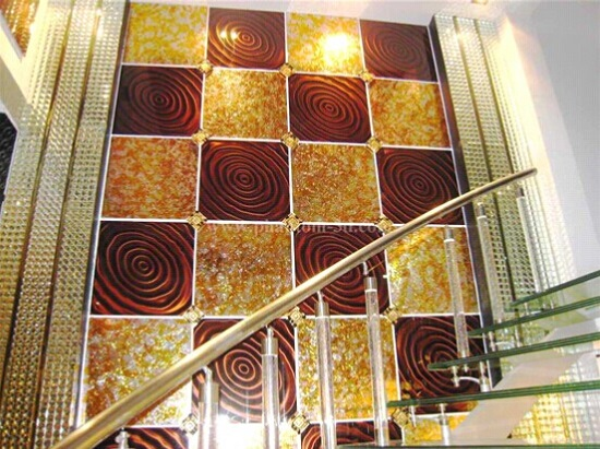 Glass Tile For Wall Decoration
