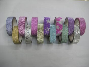 Glitter Adhesive Tape For Decoration