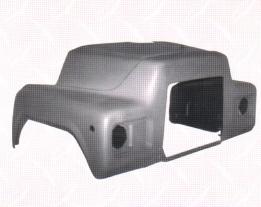 Gm Topkick Hood Fibreglass C5500 8500
