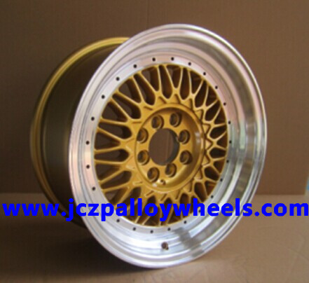 Gold Bbs Alloy Wheels 17x10