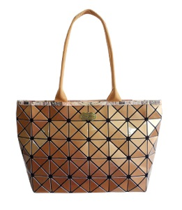 Gold Stylish Geometric Pieces Handbags