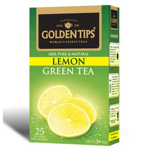 Golden Tips Lemon Green 25 Tea Bags