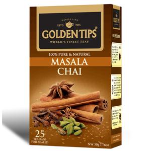 Golden Tips Masala Chai 25 Tea Bags