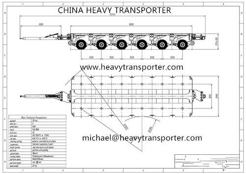 Goldhofer Thp Sl Hydraulic Modular Trailer Multi Axle Platform Spt Spmt