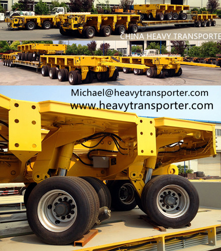 Goldhofer Thp Sl Modular Trailer Multi Axle Hydraulic Platform Nicolas Mded Scheuerle