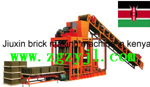 Gongyi Jiuxin Brick Making Machine In Kenya