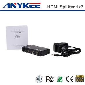 Good Quality 3d Hd 1080p 1 2 Port 1x2 Hdmi Splitter