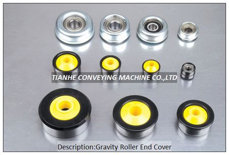 Gravity Roller End Cap Bearing Housing Cover