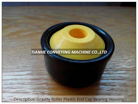 Gravity Roller Plastic End Cap Bearing Housing Cover