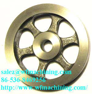 Gray Iron Sand Casting Gym Equipment Flywheel From China Factory