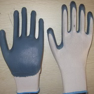 Gray Nitrile Coated Working Gloves Ng1501 2