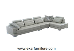 Grey Sofa Set Leather China Supplier Yx258
