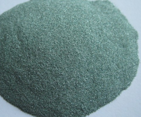 Grinding Polishing Sandblasting Refractory Materials Green Silicon Carbide
